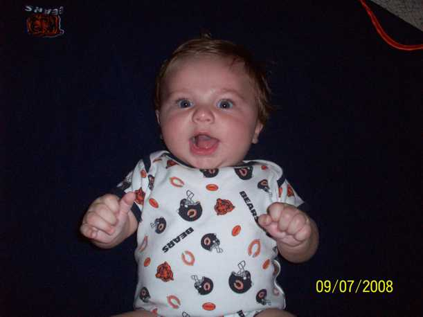 baby nathan chicago bears picture