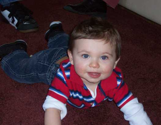 Nathan Geraghty 11 months old picture